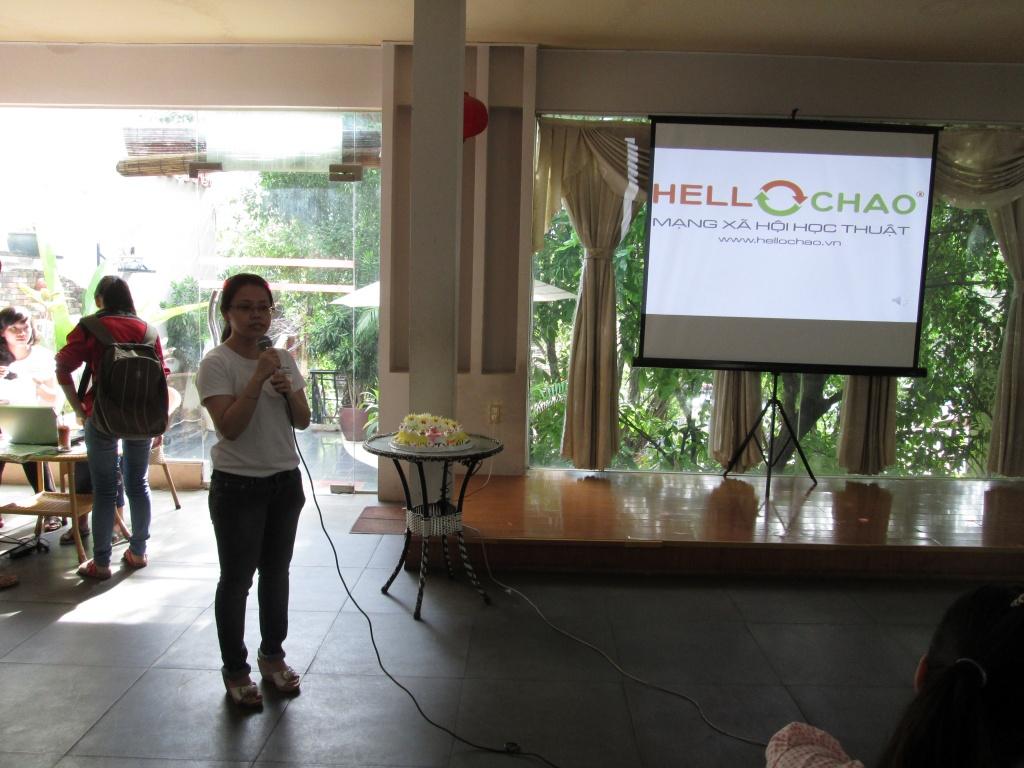 Chị Đức Hạnh - Giám Đốc bộ phận Sản Phẩm của HelloChao